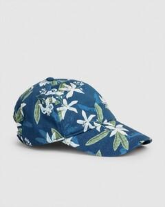 Gant Lemon Flower Cap Insignia Blue
