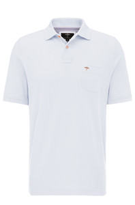 Fynch-Hatton Polo Chest Pocket Wit