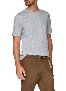 Maerz Faux Uni T-Shirt Mixed Green
