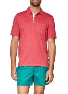 Maerz Uni Polo Short Sleeve Hot Pink