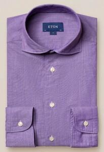 Eton Cotton Silk Uni Soft Paars