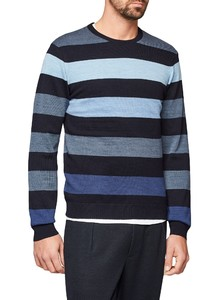 Maerz Multi Stripe Merino Superwash Navy