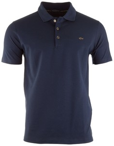 Paul & Shark Shark Emblem Polo Navy