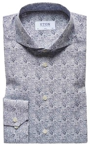 Eton Fashion Paisley Navy