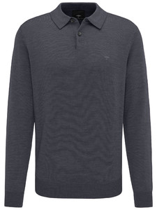 Fynch-Hatton Polo Long Sleeve Anthra