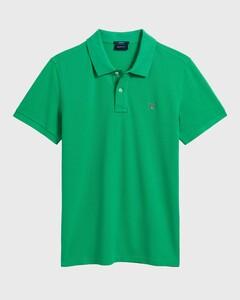Gant Gant Piqué Polo Blarney Green