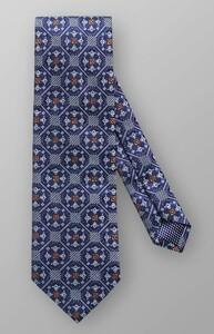 Eton Fancy Pattern Blauw
