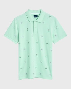 Gant Surfer Poloshirt Bay Green