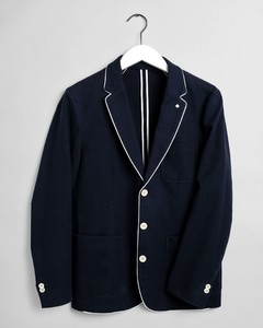 Gant The Casual Club Blazer Evening Blue