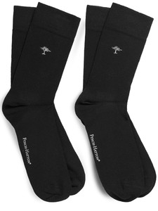 Fynch-Hatton Uni Socks 2-Pack Black