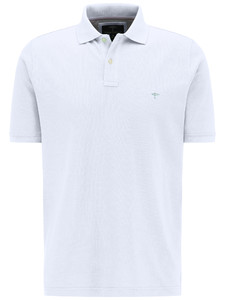 Fynch-Hatton Polo Uni Cotton White