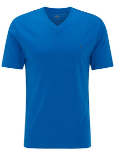 Fynch-Hatton V-Neck T-Shirt Royal