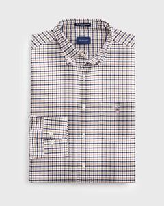 Gant The Oxford 3 Color Gingham Warm Khaki