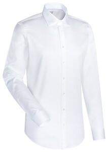 Jacques Britt Cotton Business Uni Overhemd Wit