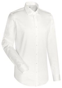 Jacques Britt Cotton Business Uni Shirt Ecru