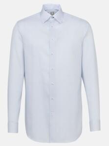 Jacques Britt Custom Fantasy Pattern Overhemd Blauw
