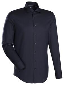 Jacques Britt Custom Structure Kent Overhemd Zwart