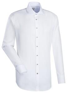 Jacques Britt Custom Structure Kent Shirt White