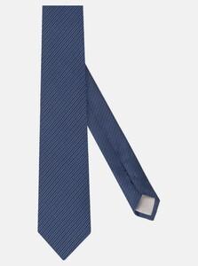 Jacques Britt Diagonal Stripe Tie Navy