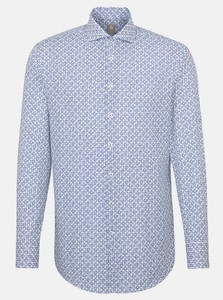 Jacques Britt Fantasy Contrast Shirt Blue