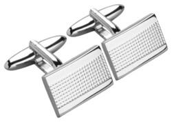 Jacques Britt Manchetknopen Cufflinks Silver Bright