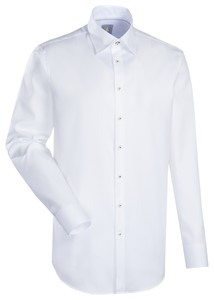 Jacques Britt Messina Slim Overhemd Wit