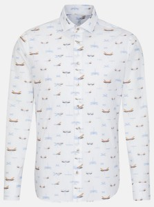 Jacques Britt Oxford Fantasy Shirt Light Blue