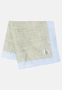 Jacques Britt Pastel Faux Uni Pocket Square Light Green