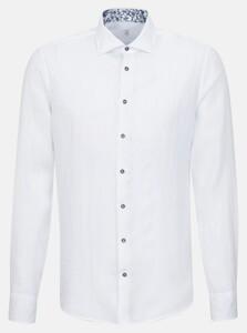 Jacques Britt Rimini Linnen Overhemd Wit