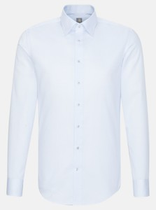 Jacques Britt Subtle Fantasy Pattern Shirt Light Blue