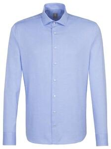Jacques Britt Uni Business Overhemd Blauw