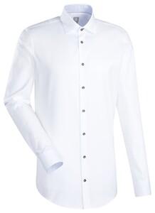 Jacques Britt Uni Custom Business Overhemd Wit