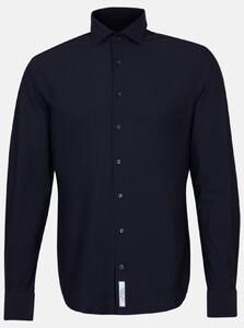 Jacques Britt Uni Jersey Overhemd Navy