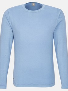 Jacques Britt Uni Round Neck Pullover Deep Intense Blue