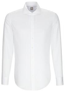 Jacques Britt Uni Shark Overhemd Wit