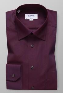 Eton Luxury Uni Dobby Effect Rijk Roze