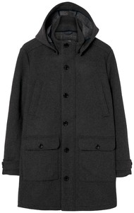 Gant The Wool Parka Antraciet
