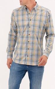 Maerz Mini Check Overhemd Straw