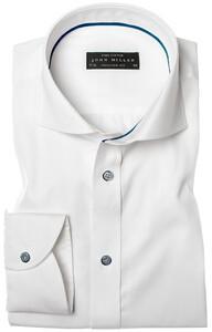 John Miller Antique Plain Shirt Ecru
