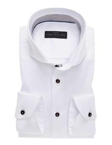John Miller Cotton Stretch Overhemd Wit