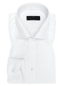 John Miller Dress-Shirt Non-Iron Overhemd Wit