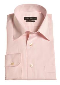 John Miller Dress-Shirt Non-Iron Overhemd Zacht Roze