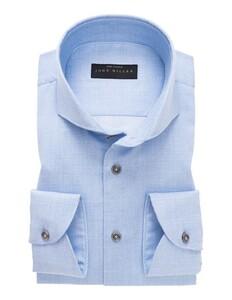 John Miller Modern Fine Cotton Overhemd Licht Blauw