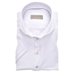 John Miller Slim Fit Polo Stretch Polo Wit