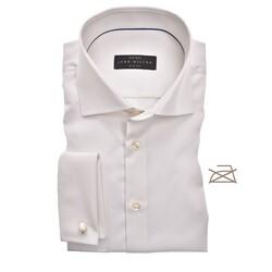 John Miller Slim French Cuff Non Iron Shirt Ecru