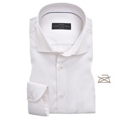 John Miller Slim Uni Non Iron Overhemd Ecru