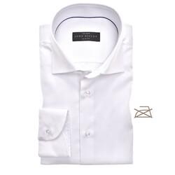 John Miller Slim Uni Non Iron Overhemd Wit
