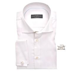 John Miller Tailored French Cuff Non Iron Overhemd Ecru