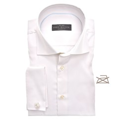 John Miller Tailored French Cuff Non Iron Shirt Ecru