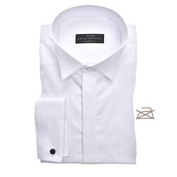 John Miller Tailored Smoking Non Iron Shirt White